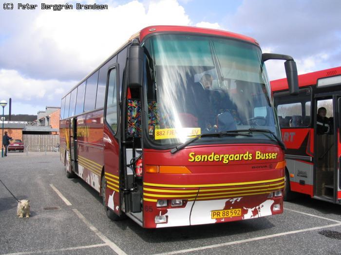 bus århus københavn